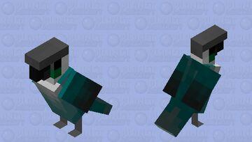 Green Cheeked Conure (Ari) Minecraft Mob Skin