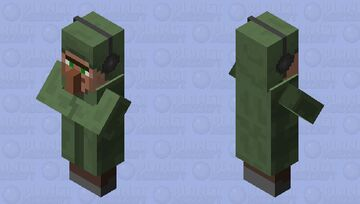 Villager DJ Minecraft Mob Skin