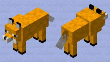 Fox (Wolf model for 1.12.2) Minecraft Mob Skin