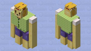Isabelle,, You Don't Look Too Good,, Minecraft Mob Skin