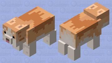 fat corgi Minecraft Mob Skin