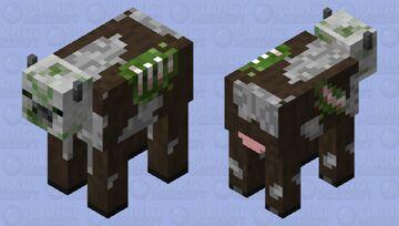Zombie Cow Minecraft Mob Skin