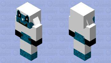 Photo negative mickey Minecraft Mob Skin