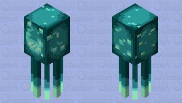 Glow Squid redesign Minecraft Mob Skin