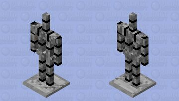 robotic Armour stand Minecraft Mob Skin