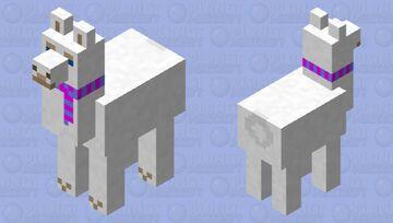 Lluna the llama (Minecraft Story Mode) Minecraft Mob Skin