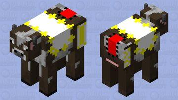 Carpet Cow Minecraft Mob Skin