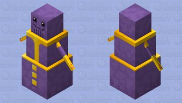 Thanos HD Minecraft Mob Skin