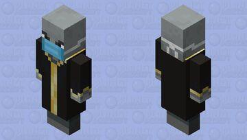 Quarantined Evoker Minecraft Mob Skin