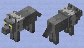 Wild Forest Wolf Minecraft Mob Skin