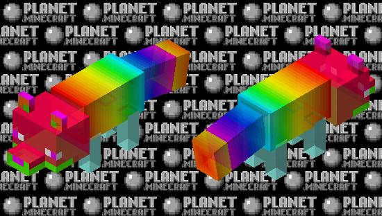 Rainbow Prism - Fox Minecraft Skin