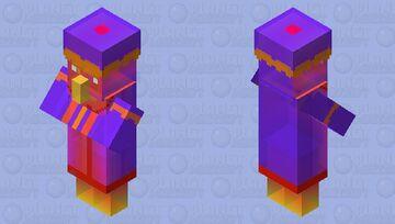 Rainbow Prism - Villager (Desert) Minecraft Mob Skin