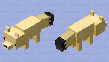 Fennec Fox Minecraft Mob Skin