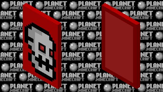 Geometry dash subzero: Press start (With elytra) Minecraft Skin