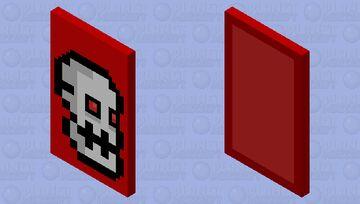 Geometry dash subzero: Press start (With elytra) Minecraft Mob Skin