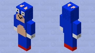 sanic vindicator Minecraft Mob Skin