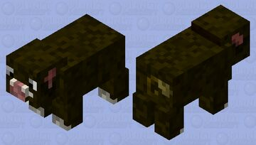Boar Minecraft Mob Skin