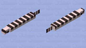 Banded Sea Snake Minecraft Mob Skin