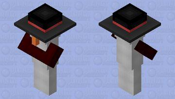 Snowman Minecraft Mob Skin