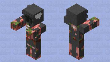 Zombified Knight Minecraft Mob Skin