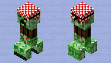 Creeper Terrorist Minecraft Mob Skin