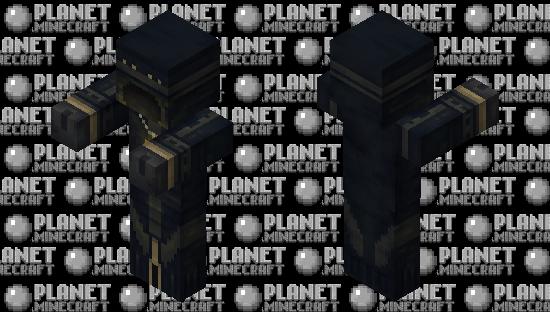 Dark Mage - HD Player Skin Minecraft Skin