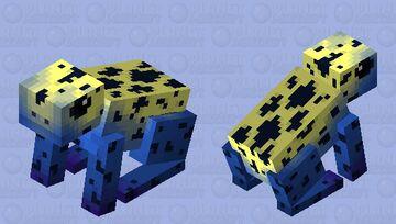 Poison dart frog Minecraft Mob Skin