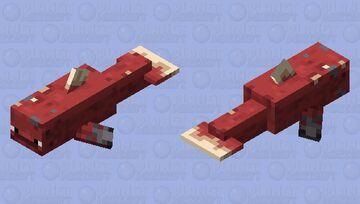 Dolpher (Dolphin Strider) Minecraft Mob Skin