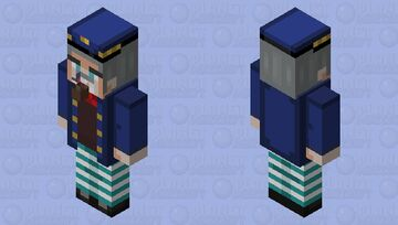 A drunken Sailor guy with a pipe who likes to attack people with an axe outta nowhere... Minecraft Mob Skin