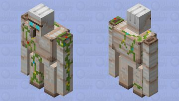 Golem with different flowers (POOP) Minecraft Mob Skin
