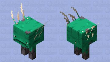 Warped Forest Terrastrider Minecraft Mob Skin