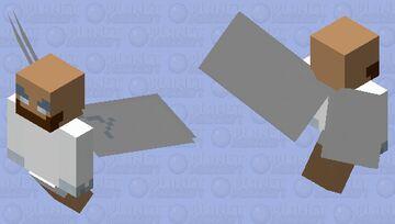 Jésus Minecraft Mob Skin