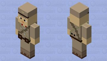 WW2 Japanese Vindicator Skin Minecraft Mob Skin