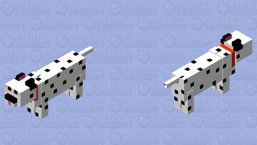 "Dalmatian ""Dog"" Minecraft Mob Skin"