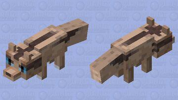 Linoone (Fox Skin) Minecraft Mob Skin