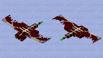 Razor-Wing Sky Phantom Minecraft Mob Skin