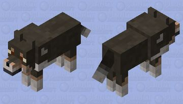 Shetland Sheepdog (old) Minecraft Mob Skin