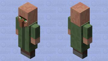 Just Another Average Villager ...JK / Evoker: (Making Minecraft A Little Harder) -- Covert Operations Series Minecraft Mob Skin