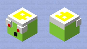 Edited Slime Minecraft Mob Skin
