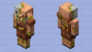 better Zombiefied Piglin Minecraft Mob Skin