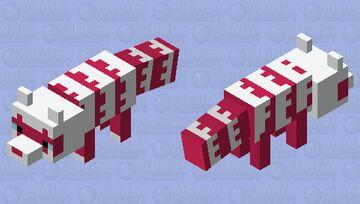Shiny Galarian Zigzagoon Minecraft Mob Skin