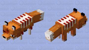 Dead Fox Minecraft Mob Skin