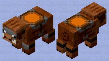 Armored Boar Minecraft Mob Skin