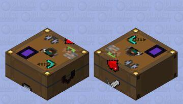 Suitcase Minecraft Mob Skin