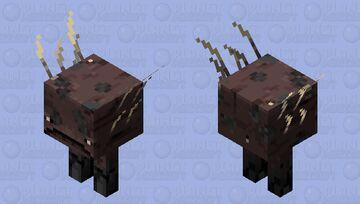 Gravel Terrastrider Minecraft Mob Skin
