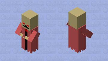 Terreria Dungeon Skeleton Minecraft Mob Skin
