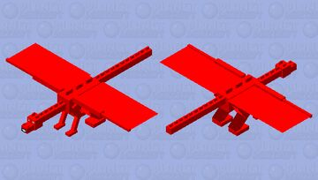 Clifford the big red dog Minecraft Mob Skin