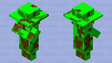 I can trade with you. just dont tell anyone plz Minecraft Mob Skin