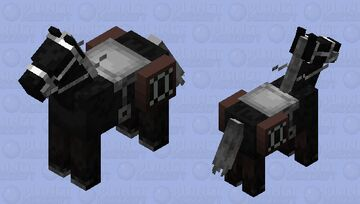 Chess Knight Minecraft Mob Skin
