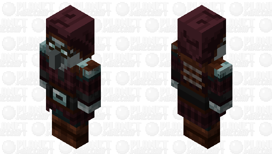 Adapted Villagers Pillager Minecraft Skin